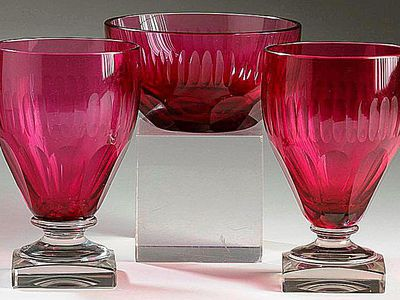 Learning About Antique Moser Glass