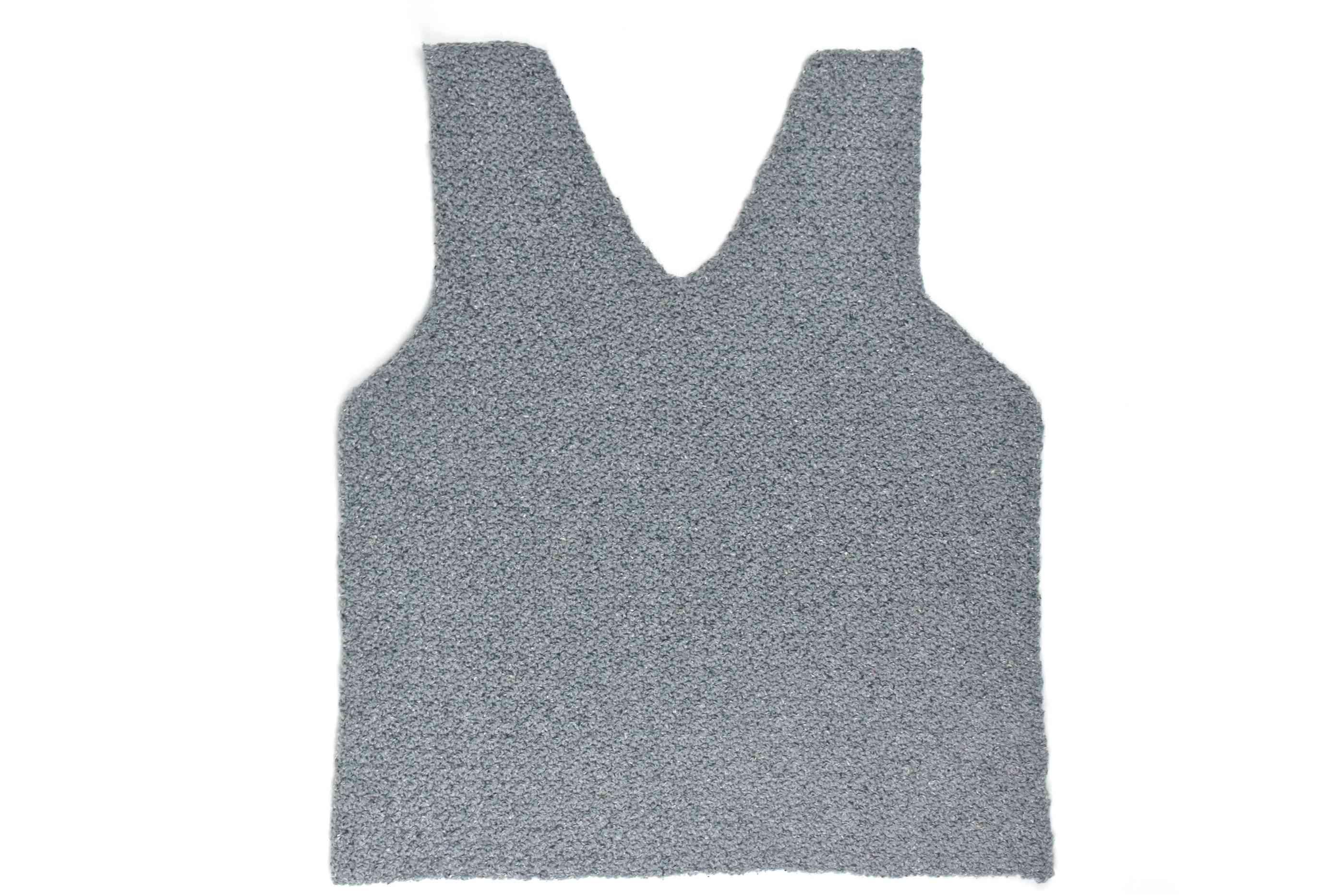 Front of Lemon Peel Crochet Tank Top