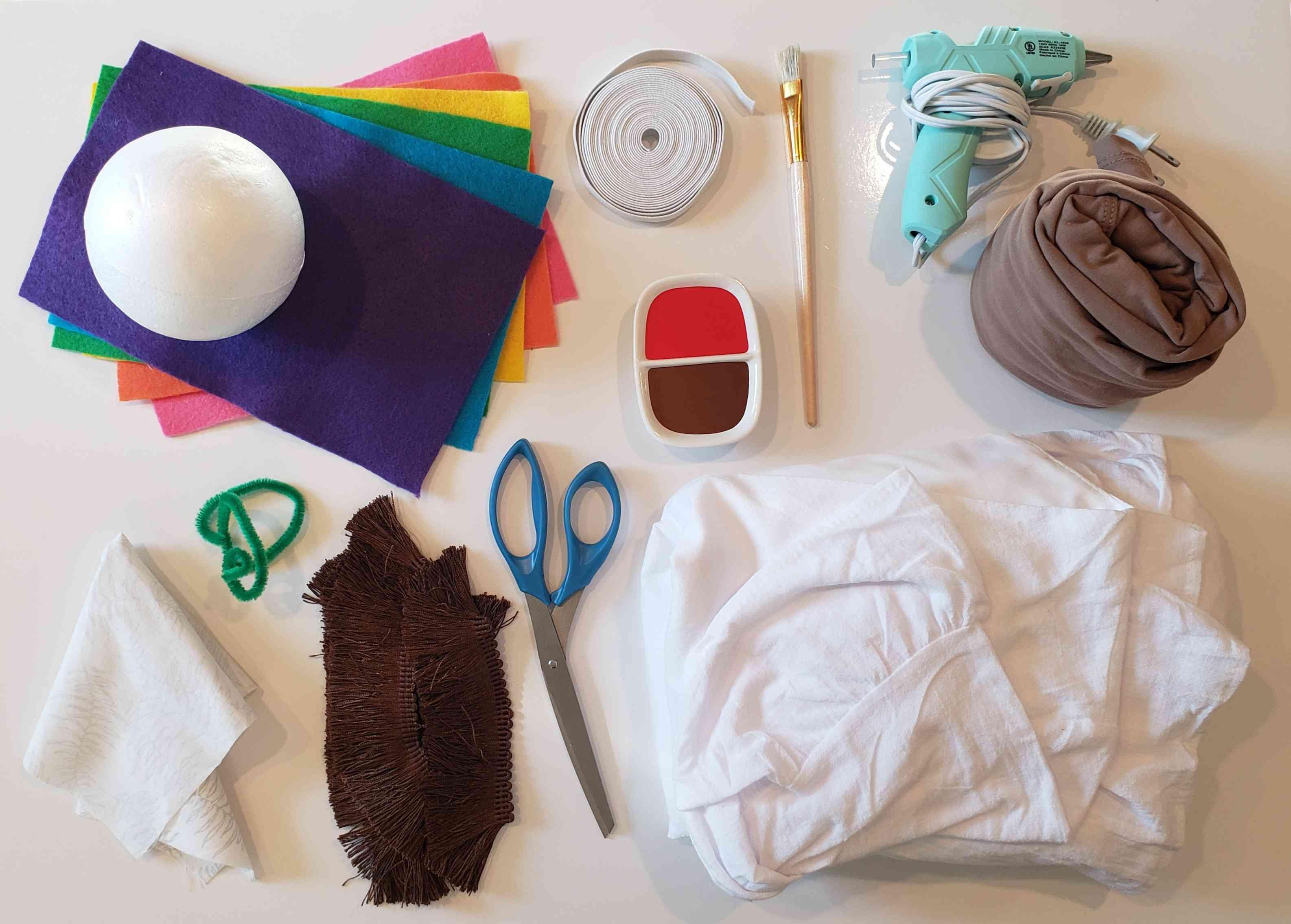 Costume materials