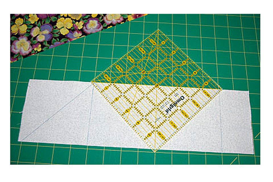Half square triangles and a grid