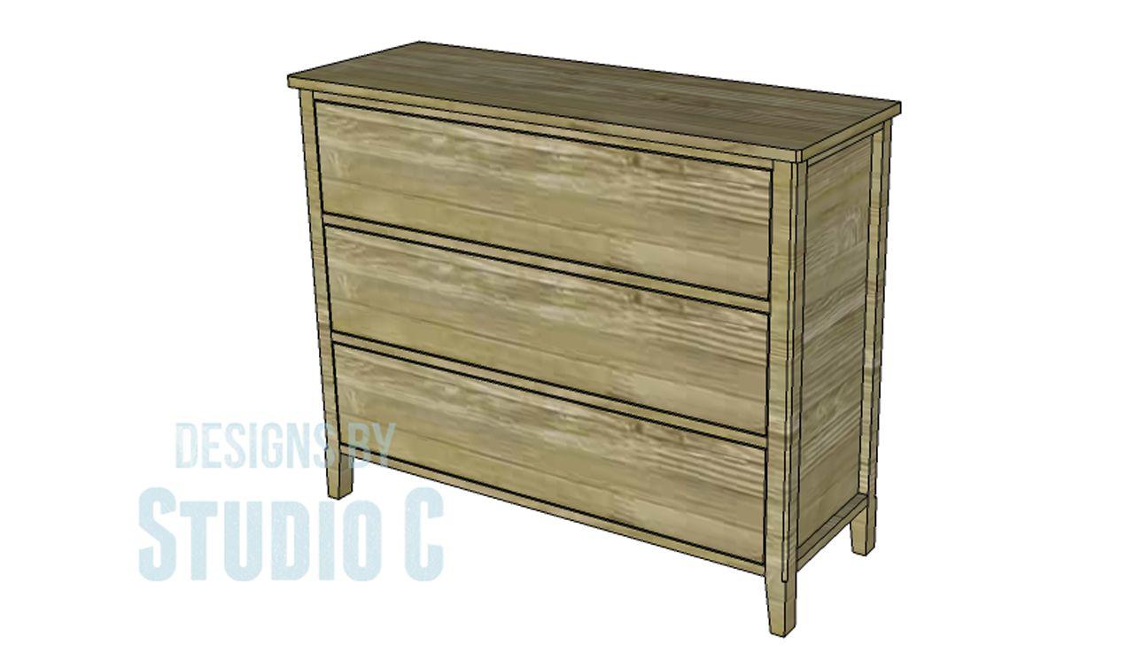 DIY Cosmo Dresser