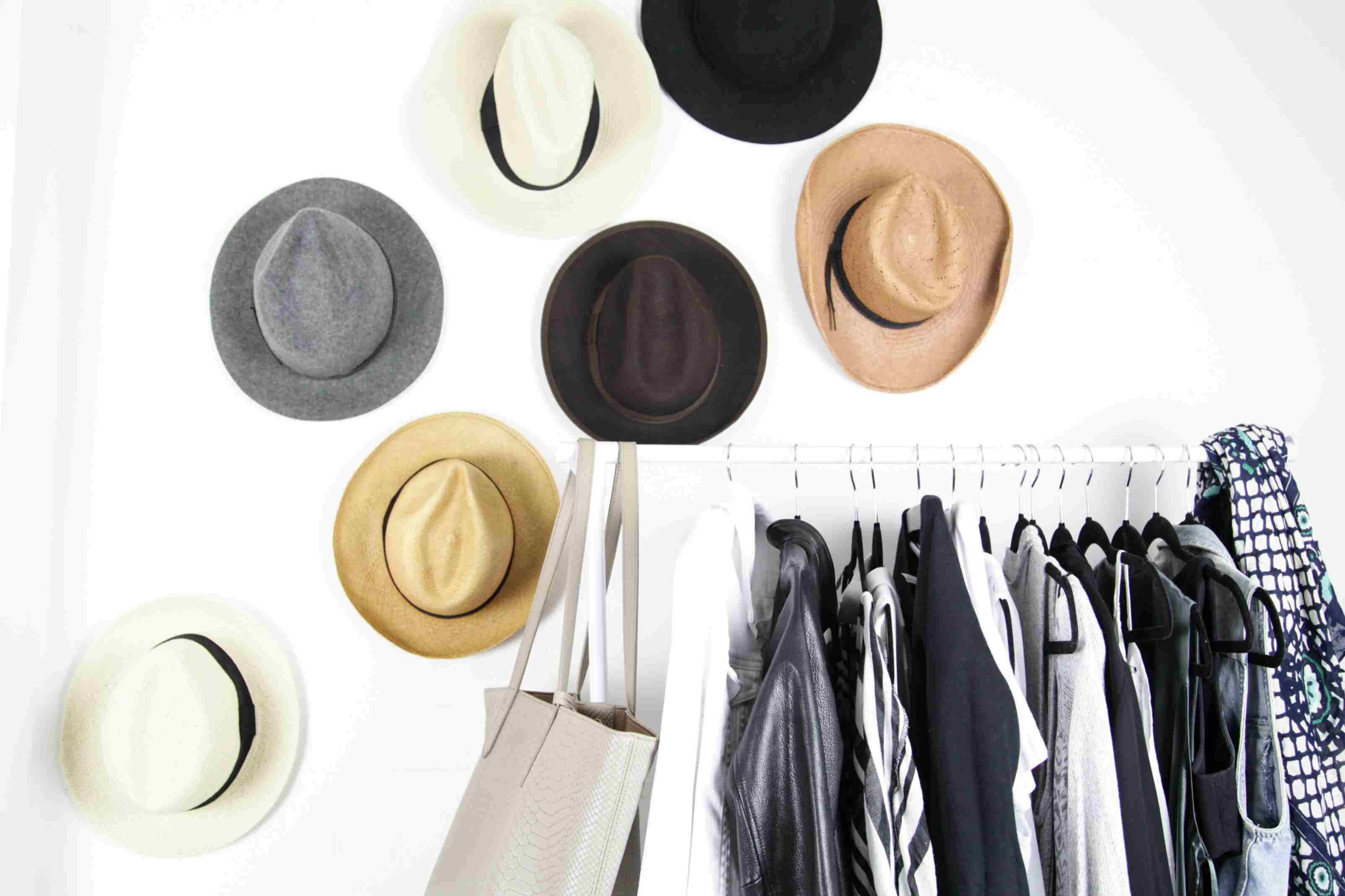 DIY: Hat Wall Display