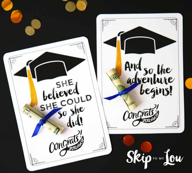 Two graduation cards