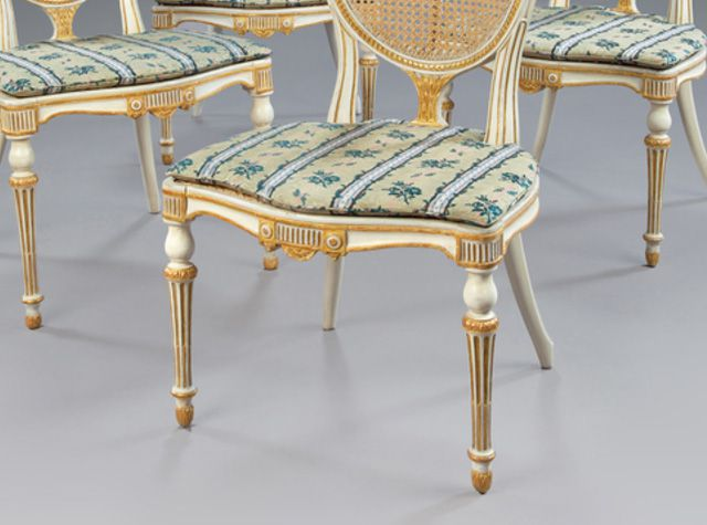 Toupie Feet On George Iii Side Chairs