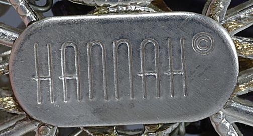 Ca. 1990s Hannah Buslee jewelry mark