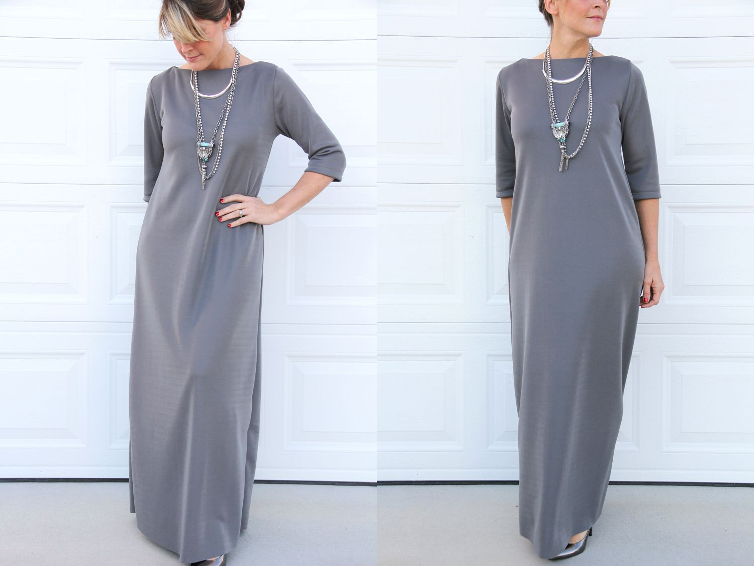 Easy Maxi Dress Sewing Tutorial