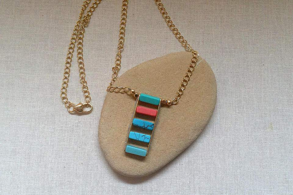 Ladder Bead Necklace