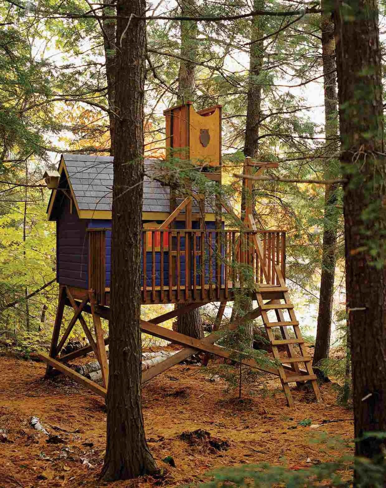 easy treehouse designs for kids ganncellars 10 free diy tree house plans