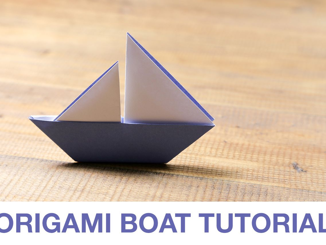 How to Make an Easy Origami Boat | 853x1137