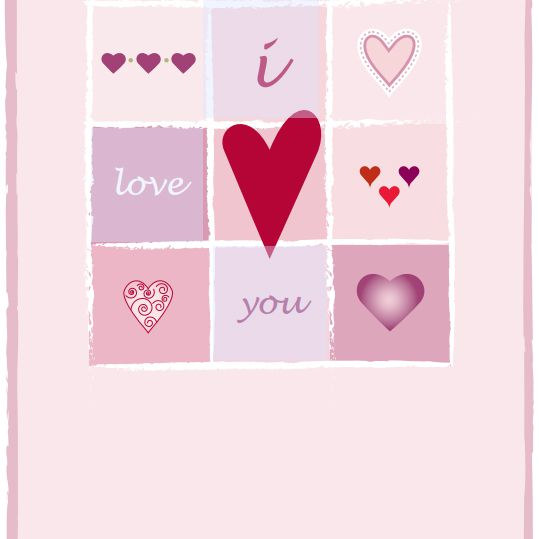 An I Love You Valentine's Day Card