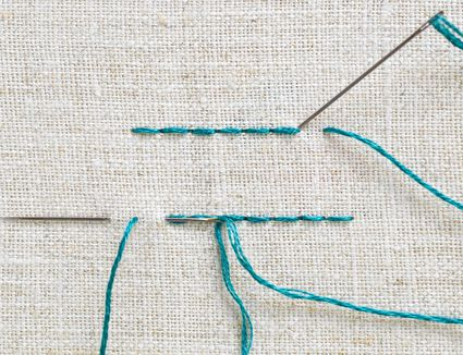 Stabbing vs. Sewing Embroidery Methods
