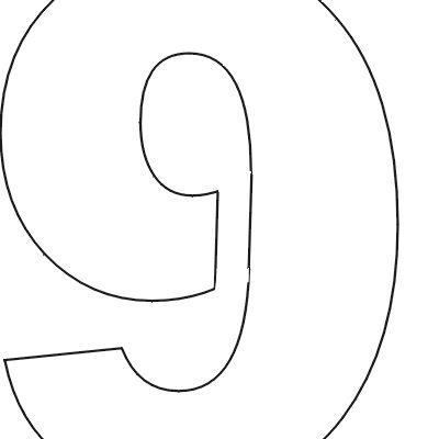 Free printable letter stencil