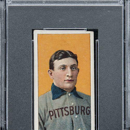 Honus Wagner Graded Baseball Card