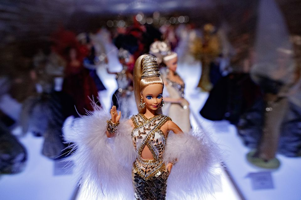 Fancy Barbie doll