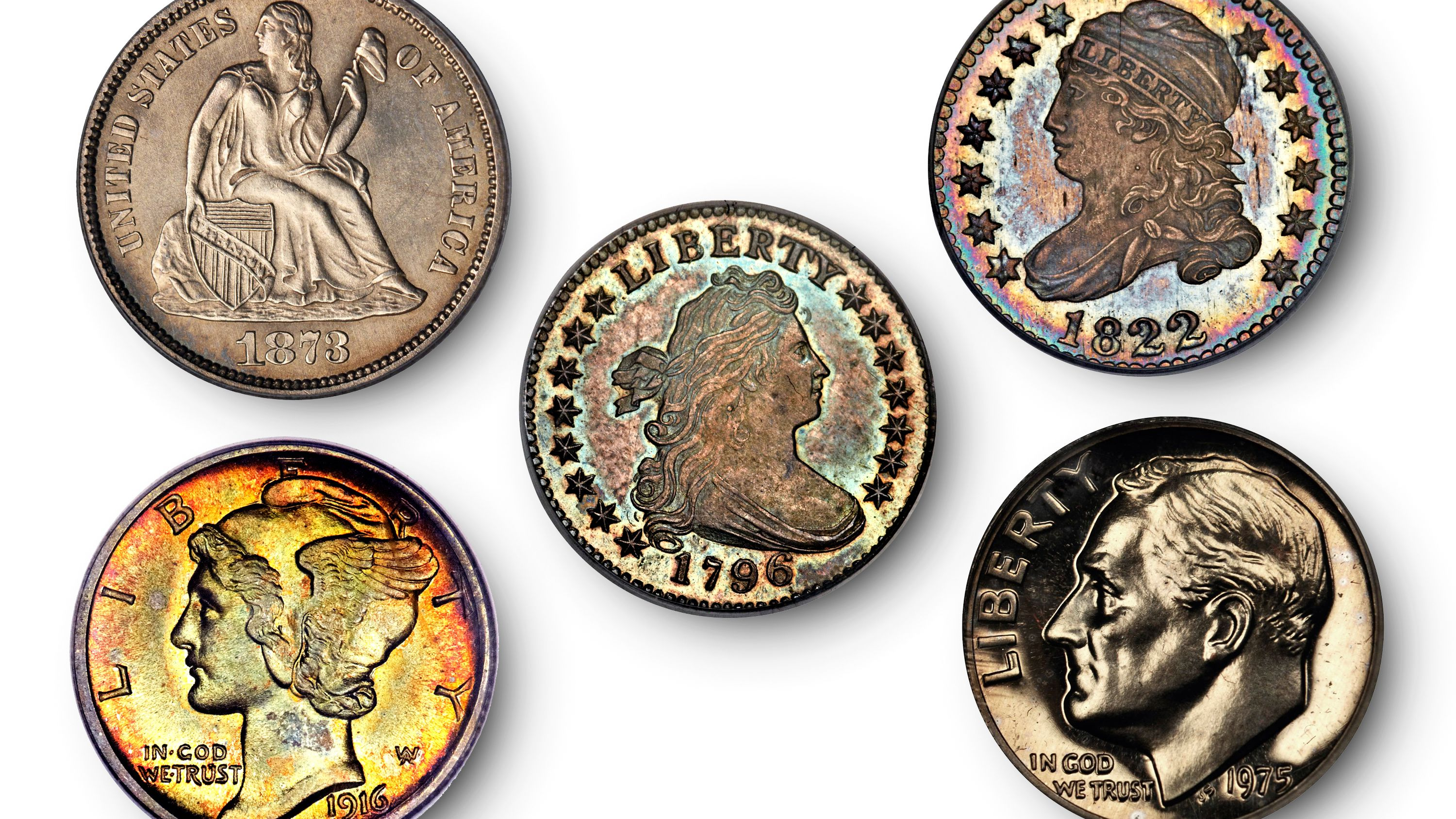 Silver dime when our money still had some real value Coins AND