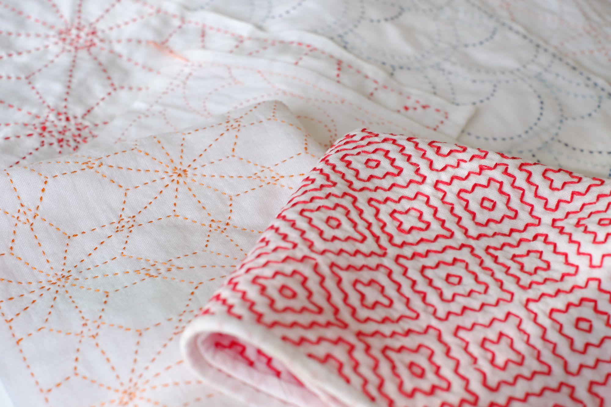 Sashiko Folk Embroidery A Japanese Art