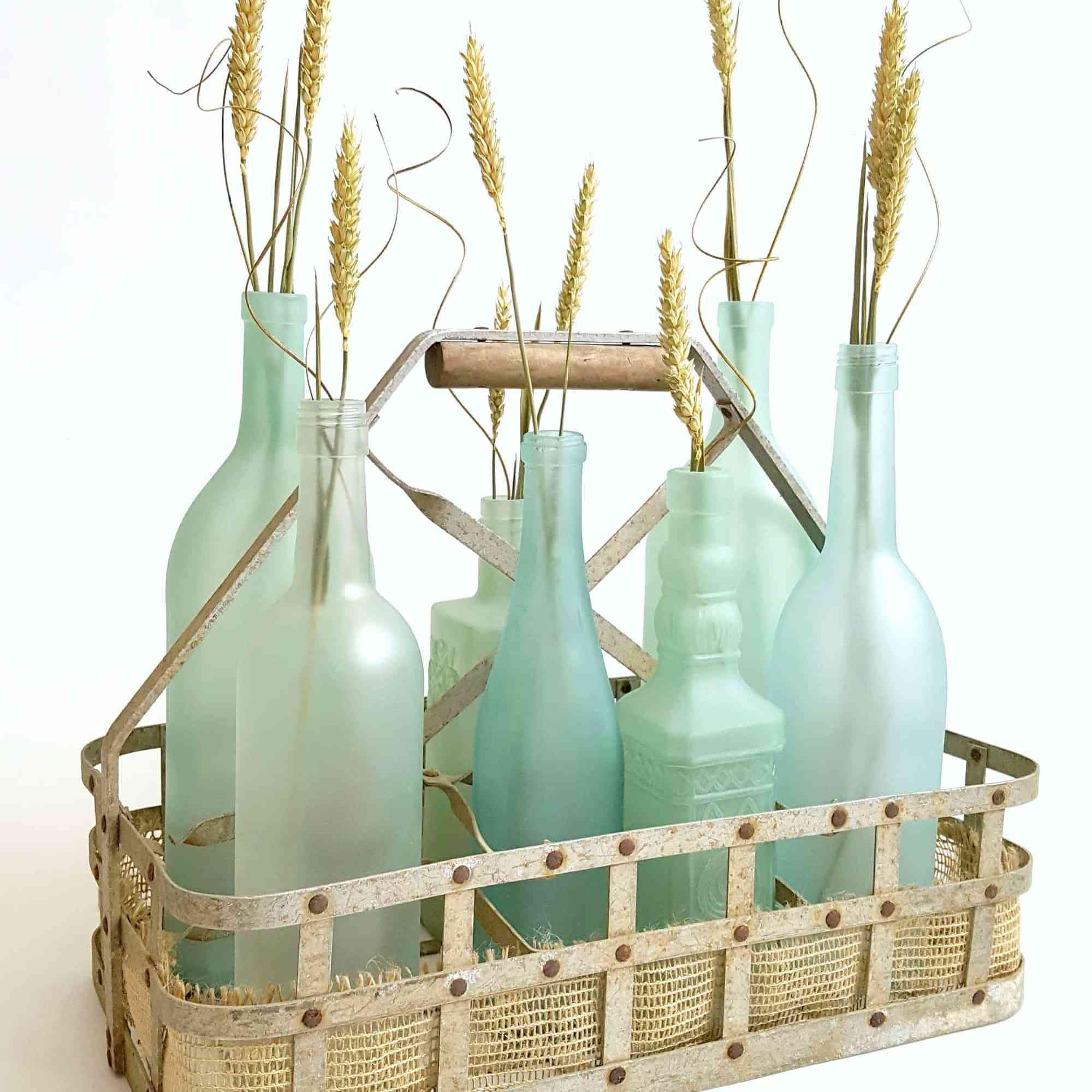 diy wine bottle craft ideas