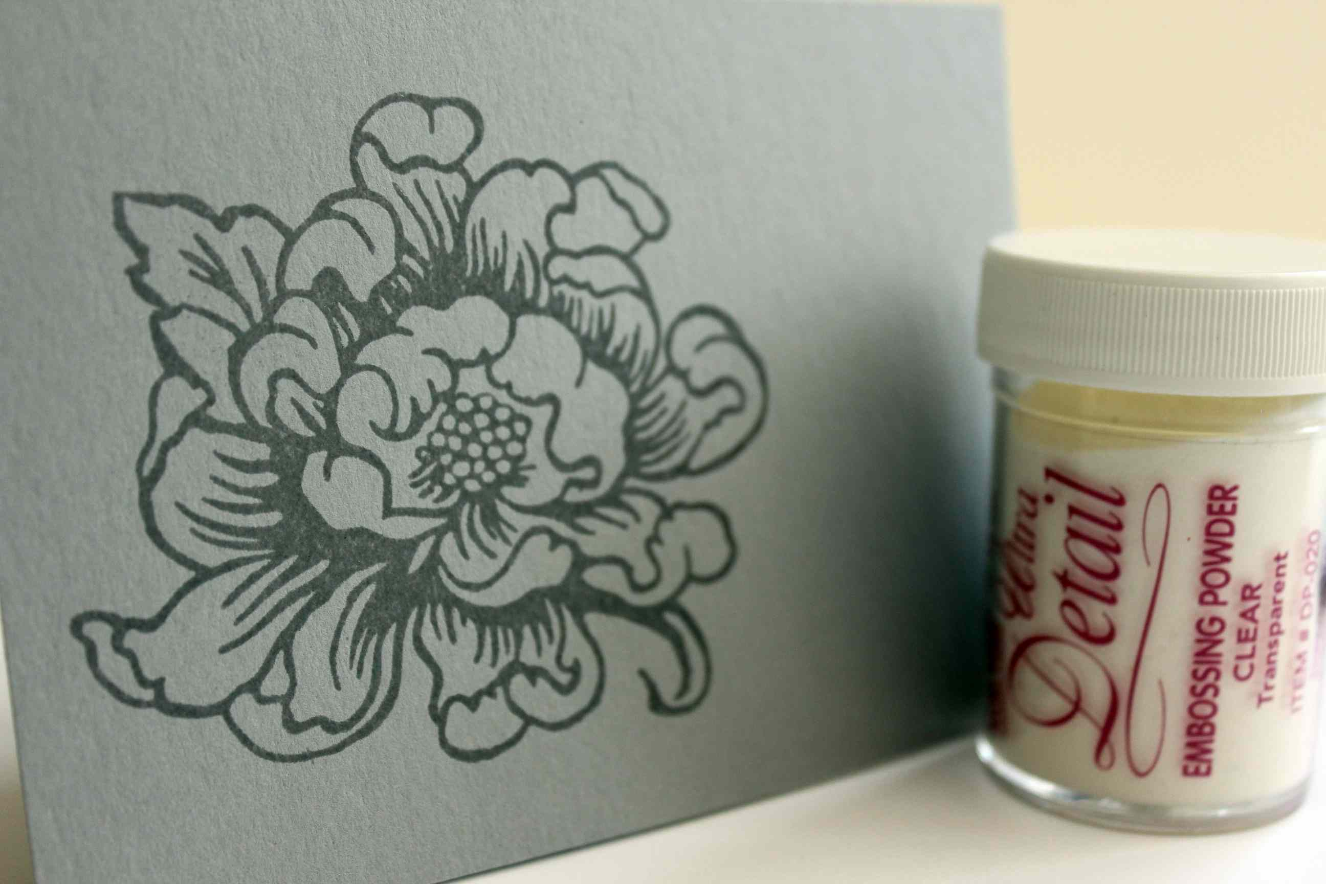 embossing powder results