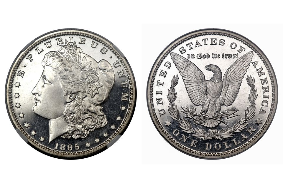 1895 Morgan Silver Dollar