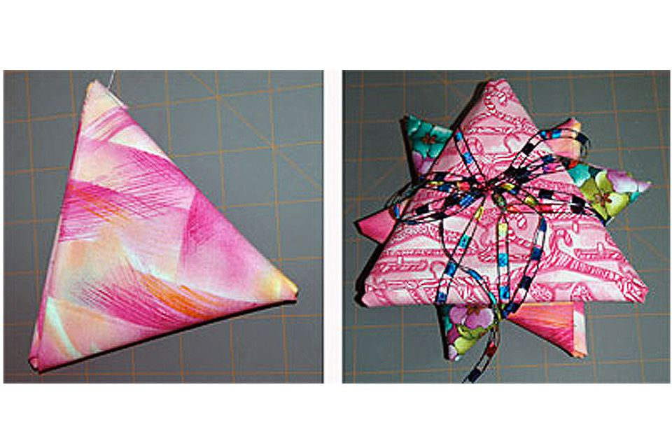 How to Make Folded Fat Quarter Stars