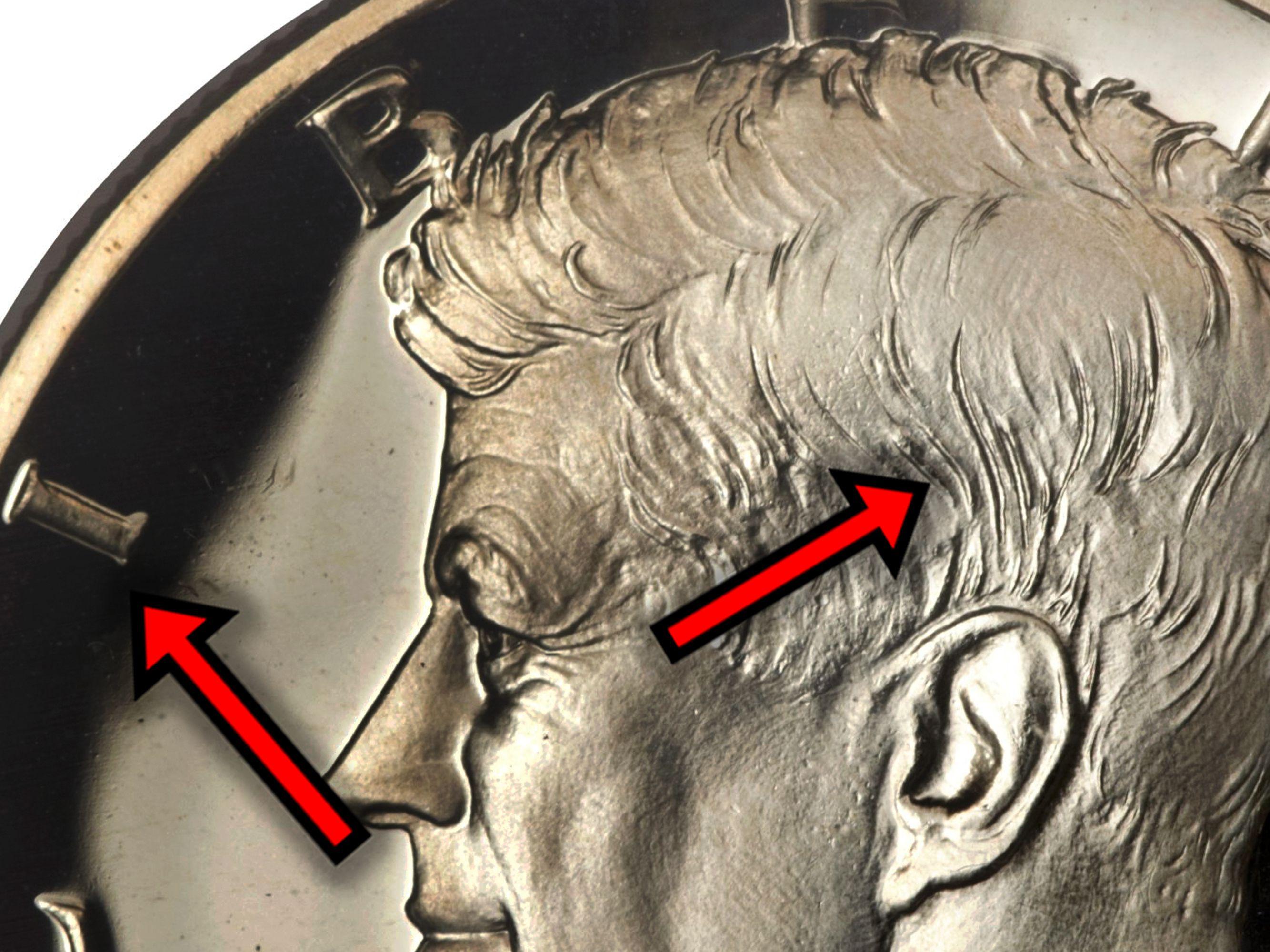 2016-D,P Kennedy half dollars JFK