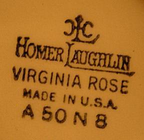Homer Laughlin Mark