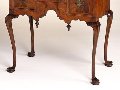 Examples of Antique Furniture Leg Styles - How To Date Antique Furniture