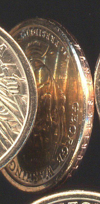 Washington Dollar Error Coins