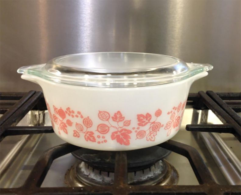 Pyrex Gooseberry Casserole Dish