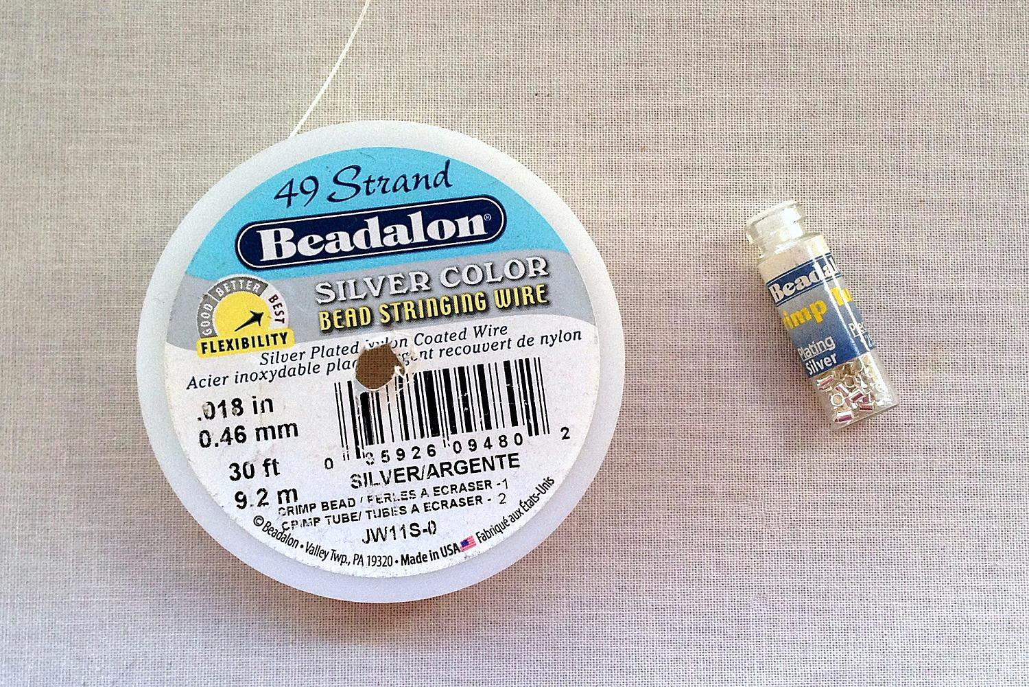 Which Size And Strength Of Beading Wire Should I Use Wiring Labels Number