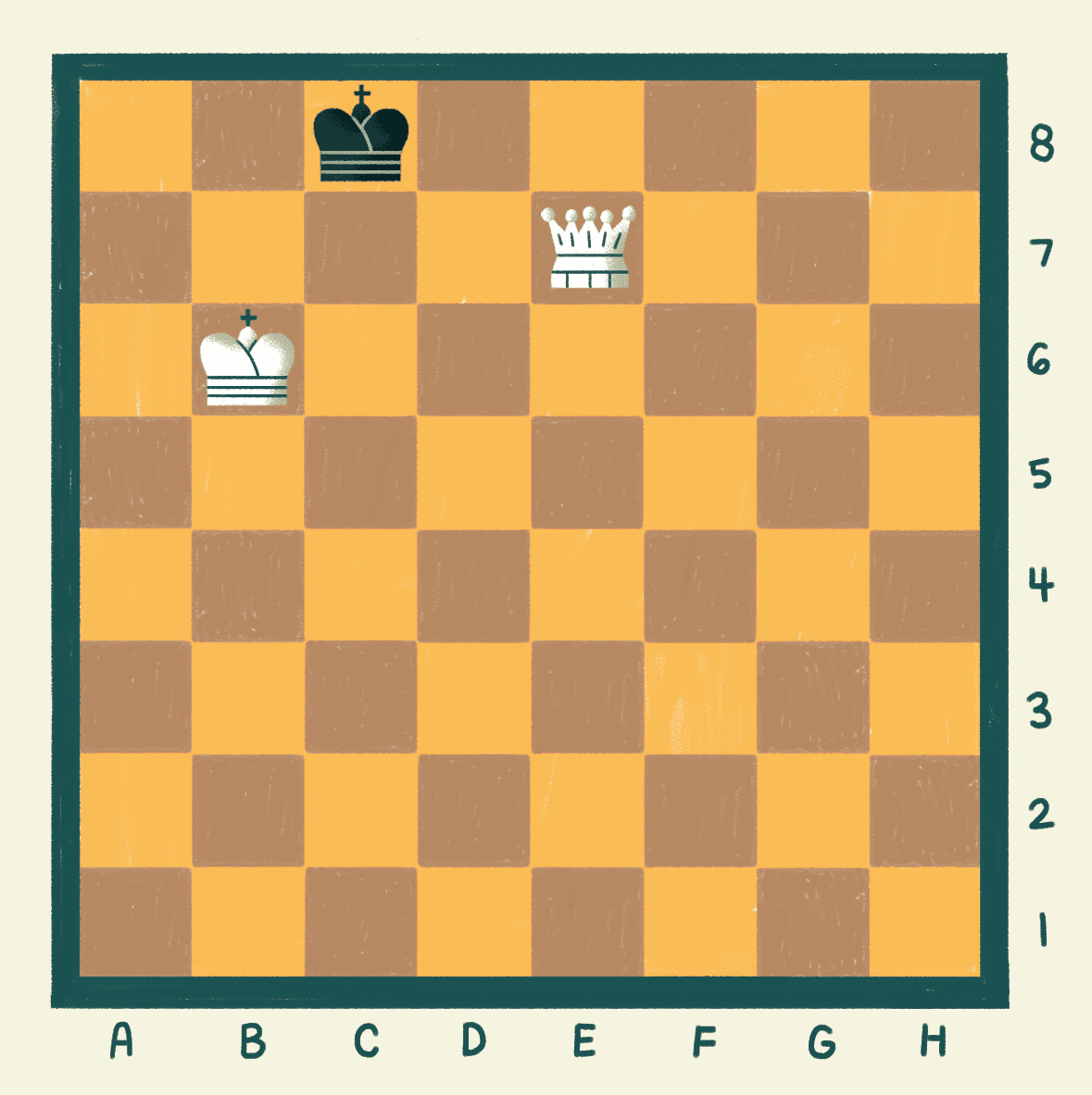 preparing checkmate in chess
