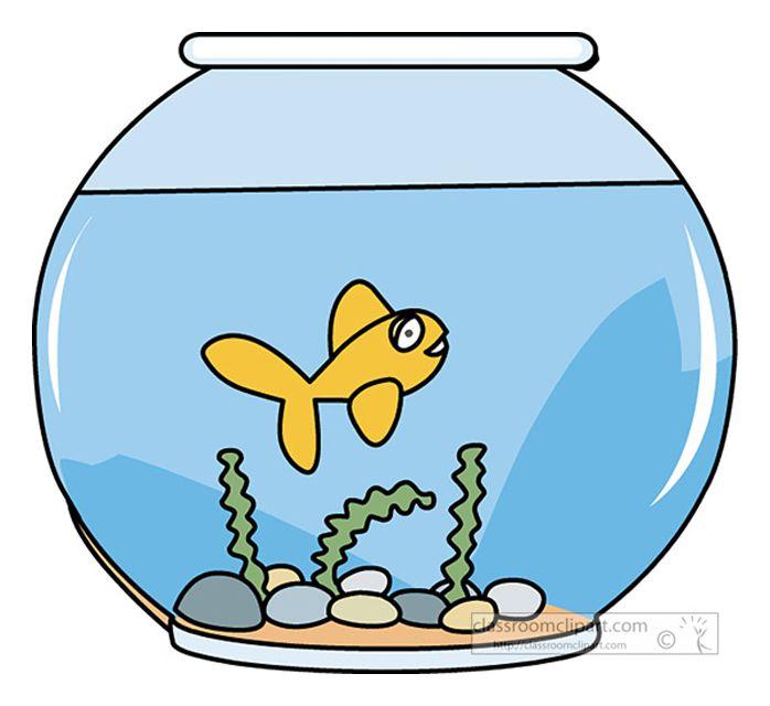 Fish outline classroom. Free clip art