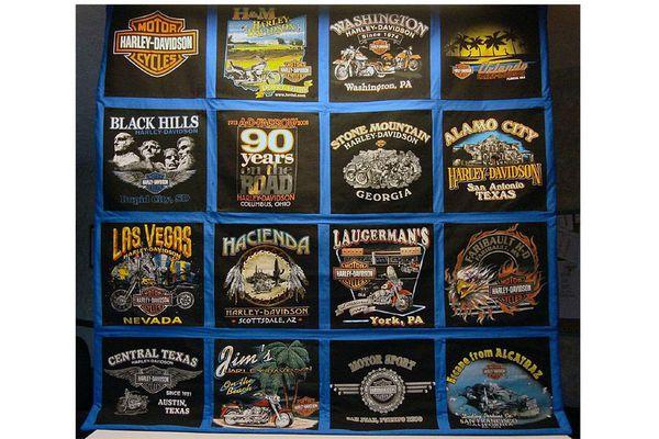 A t-shirt quilt