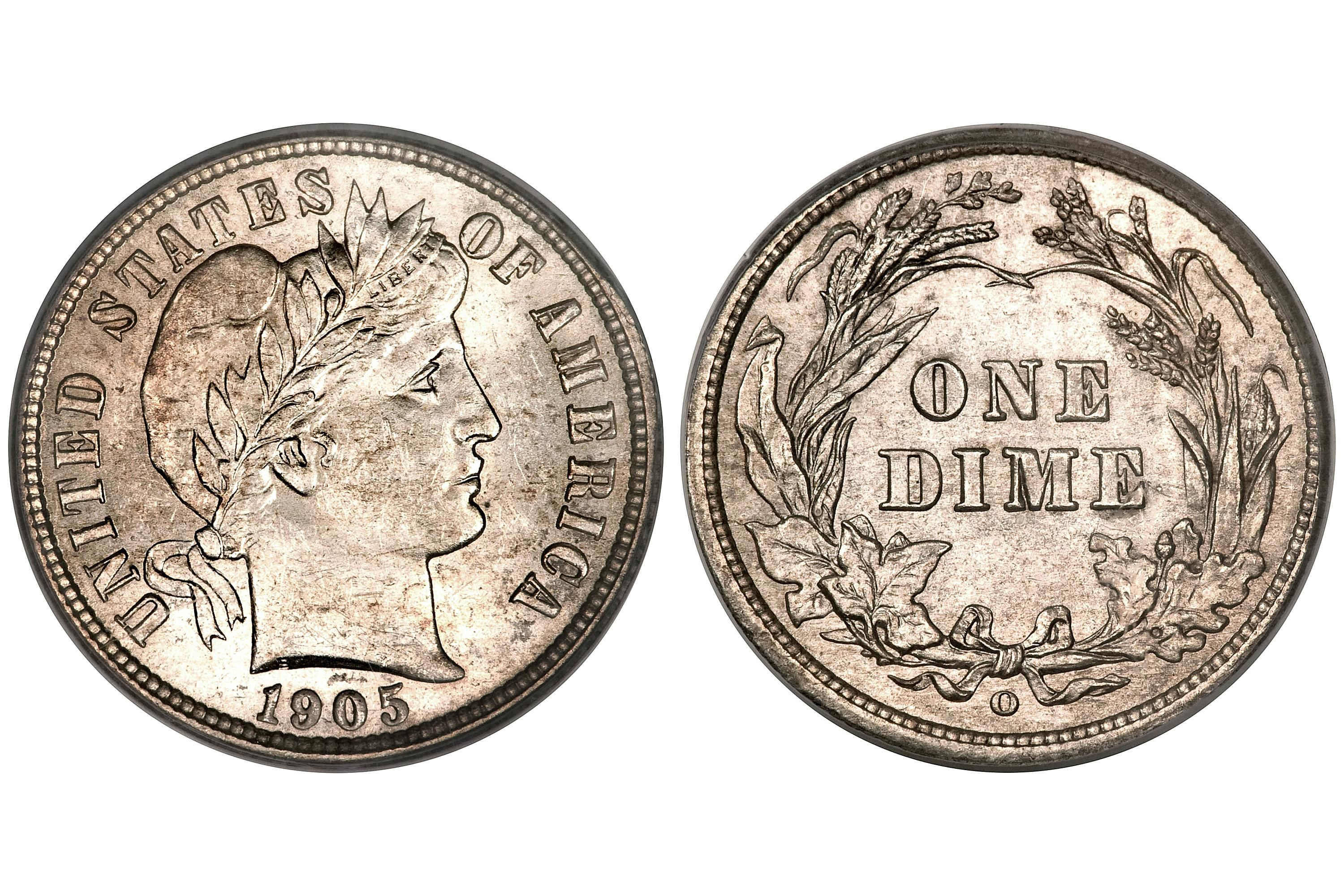 Barber Dime Values Prices