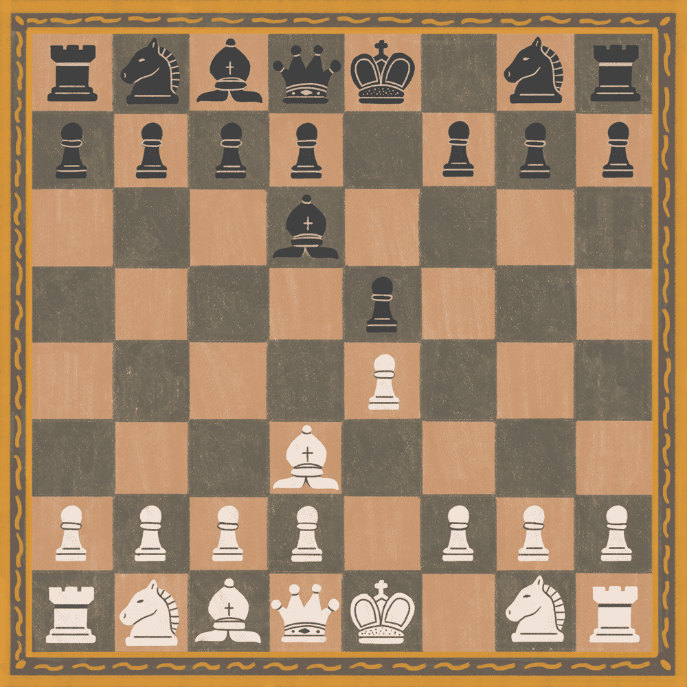 Illustration of freedom in chess