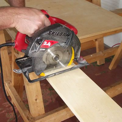 Cut the Board Sections to Length