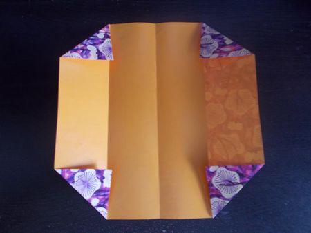 Origami business card holder colourmoves