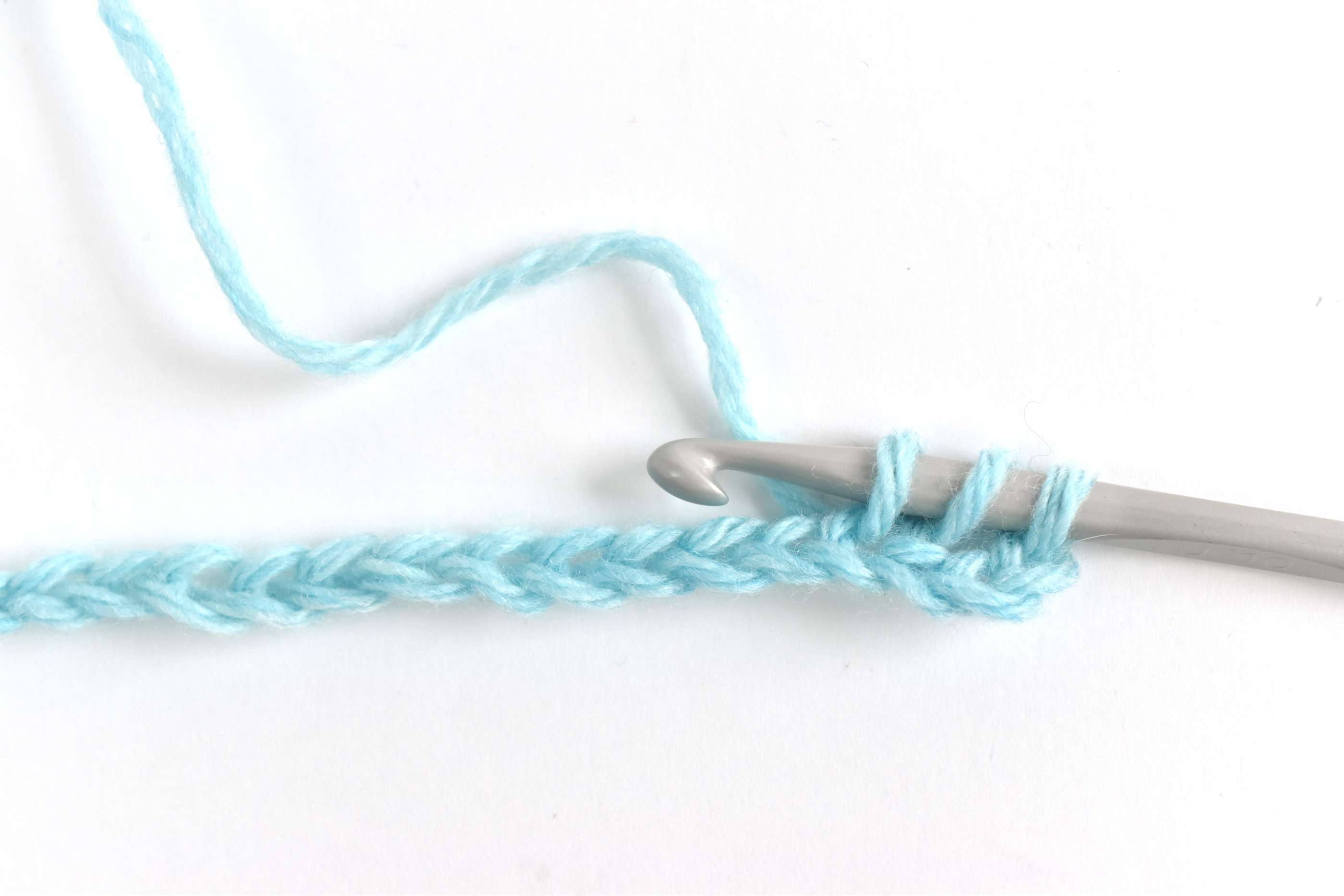 Start a HDC in the 4th Chain From the Hook
