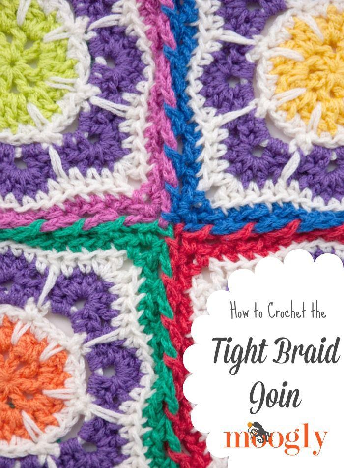 Crochet Braid Join