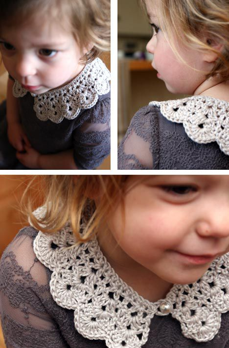 Crochet Lace Collar Patterns