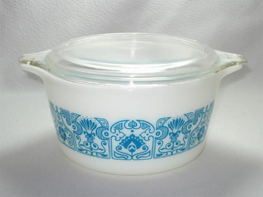 Pyrex Horizon Blue Casserole Dish