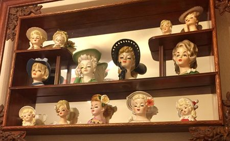 Collecting Vintage Lady Head Vases