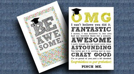 11 Free Printable Graduation Cards For 2020