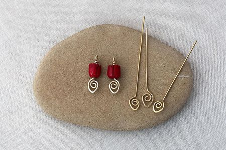 Make Decorative Spiral Headpins
