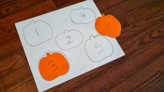 Pumpkin Number Hunt