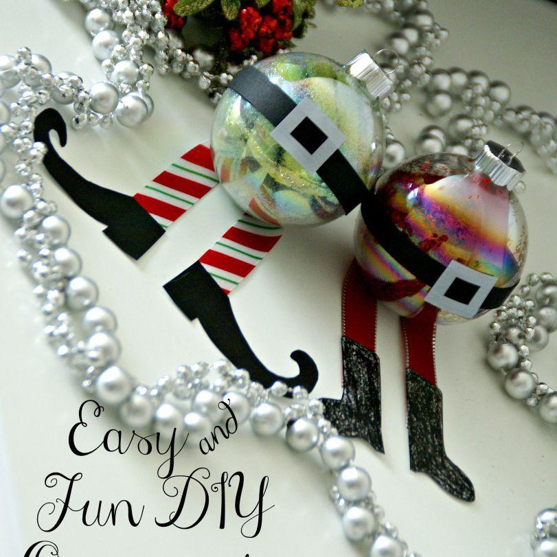 Easy and Fun DIY Ornaments