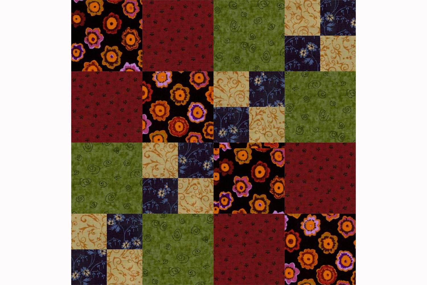 Carrie Nation Quilt Block Pattern