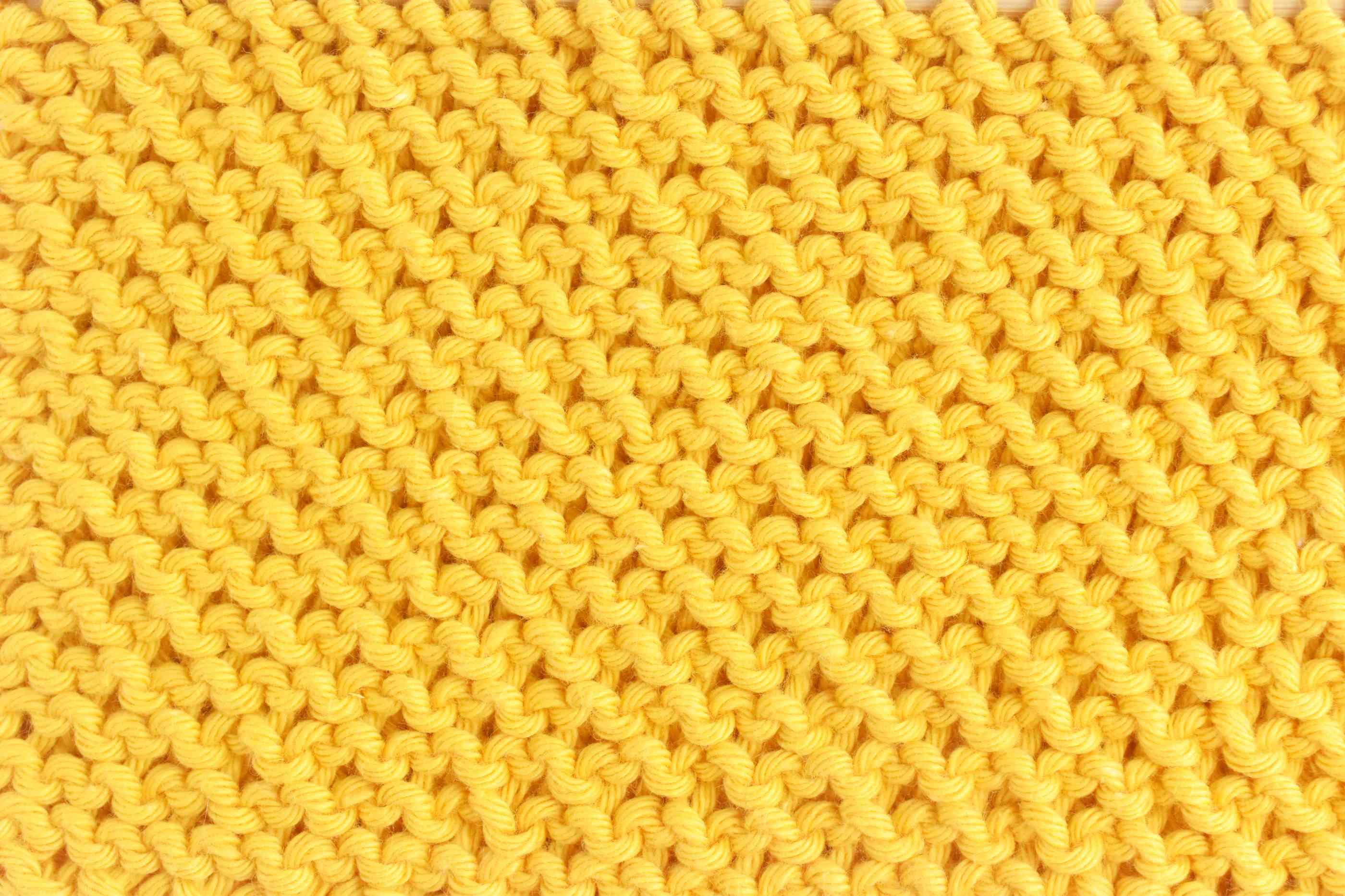 Honeycomb Stitch Knitting Back