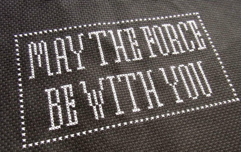 10 Star Wars Cross Stitch Patterns