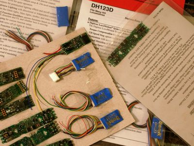 Simple Instructions for Wiring a DCC Decoder on